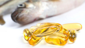 A fish and omega 3 supplement capsules